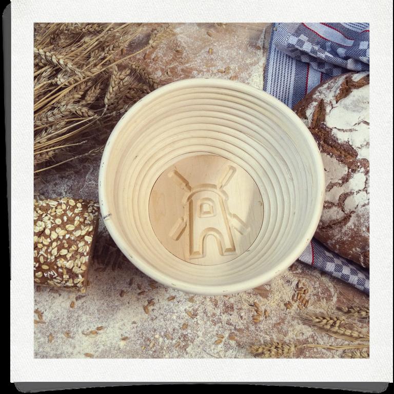 Brotform Mühle - 0,75 kg rund 20 cm