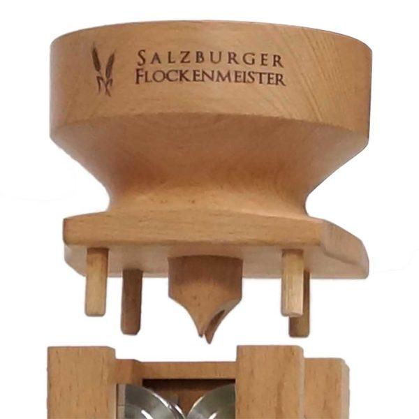 Salzburger Flockenmeister mit Zahnradantrieb - Buche